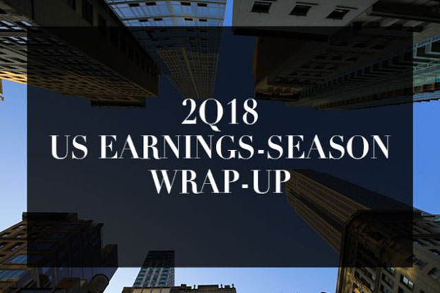 2Q18 US Earnings-Season Wrap-Up: Gauging Winners and Losers