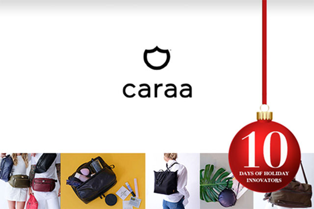 1a66c8f2279 Ten Days of Holiday Innovators, 2018  Day 4 – Caraa Luxury Sports Bags