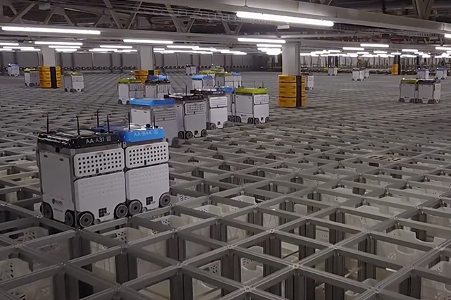 Ocado's First Fully Automated Distribution Center Destroyed