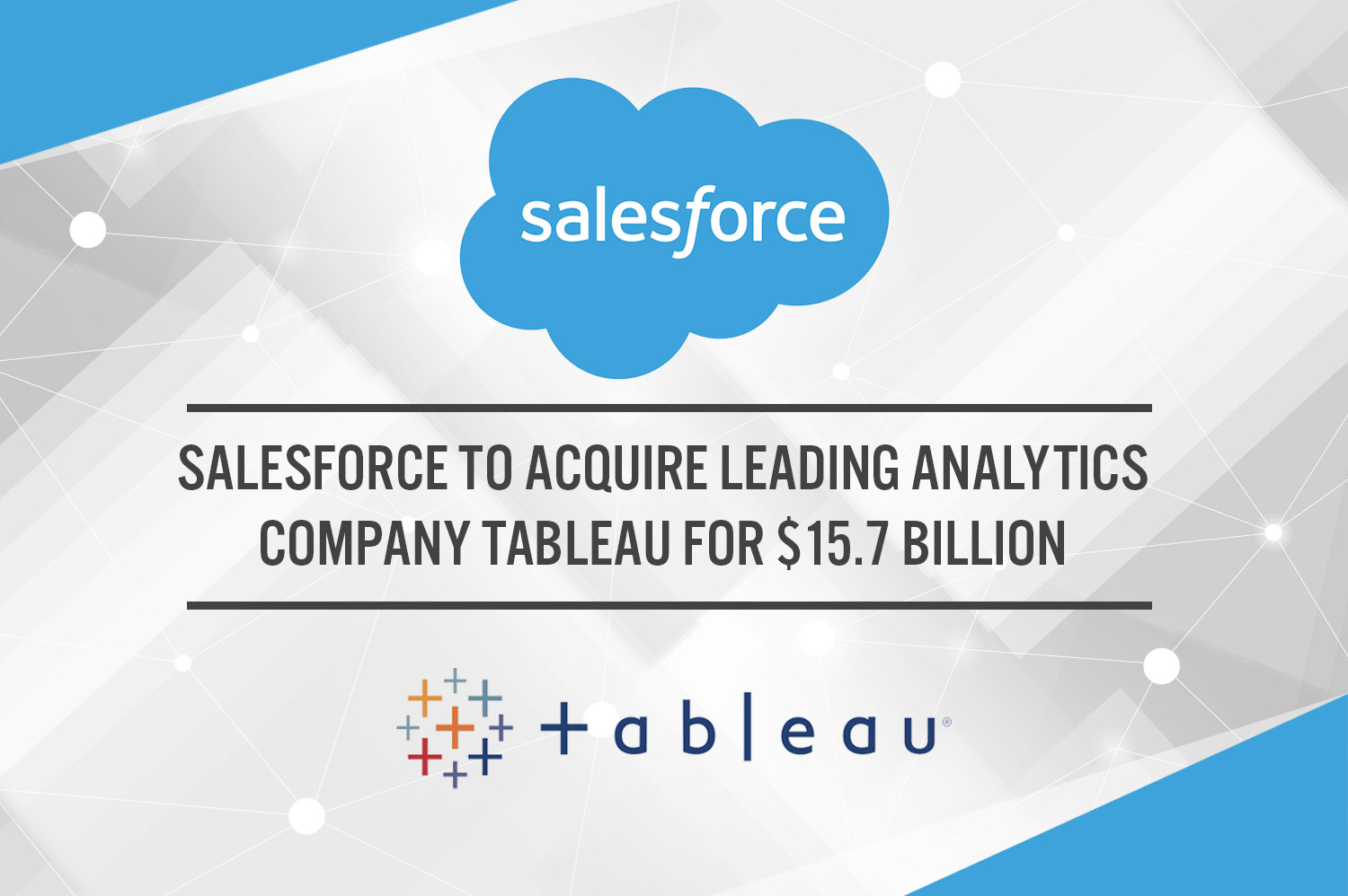 Admirable Salesforce To Acquire Leading Analytics Company Tableau For Download Free Architecture Designs Grimeyleaguecom