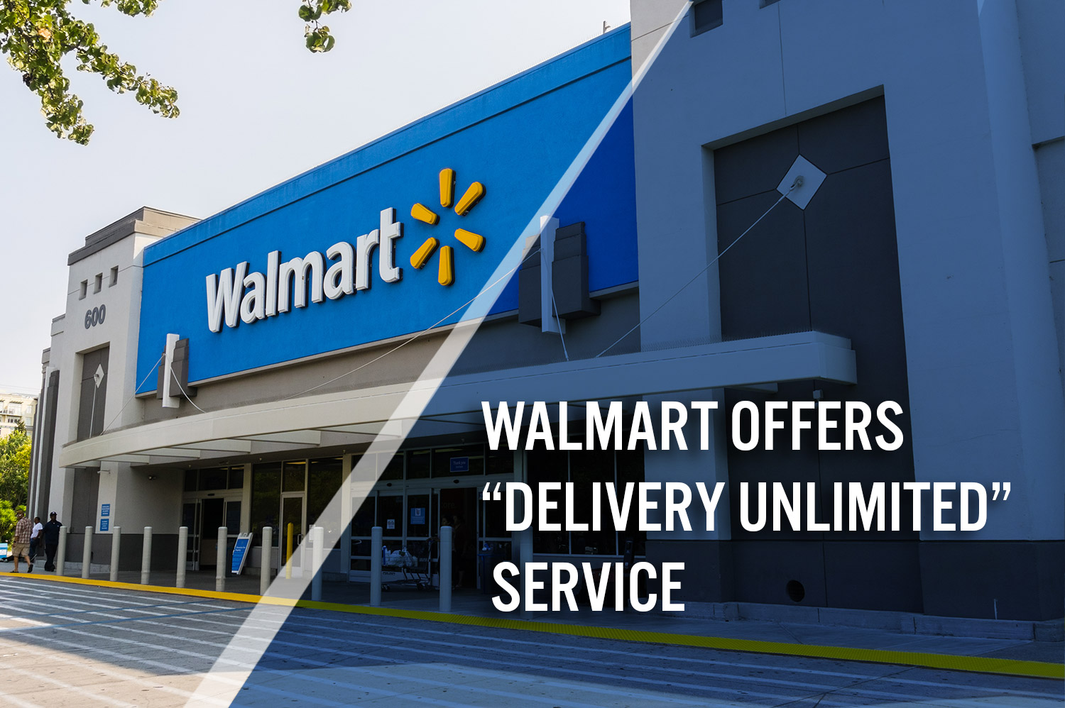 "Walmart Offers Competitive $98/Year Grocery ""Delivery"