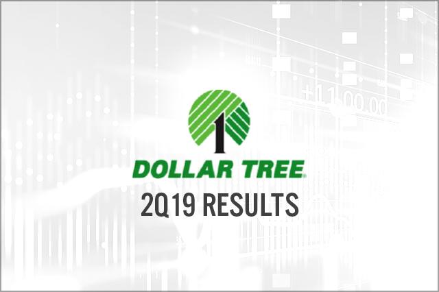 Dollar Tree (NASDAQ:DLTR) 2Q19 Results | Coresight Research