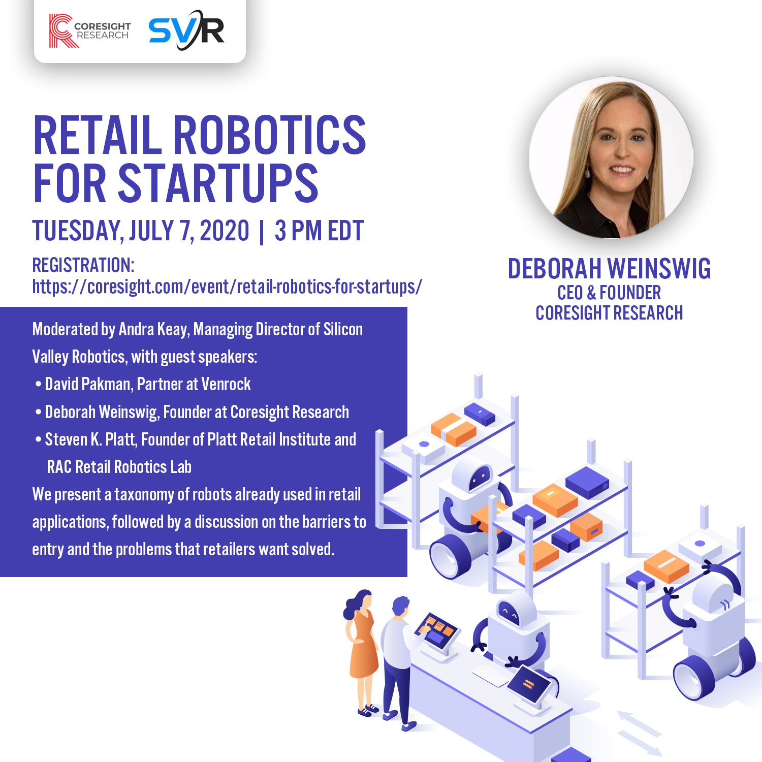 Retail Robotics for Startups