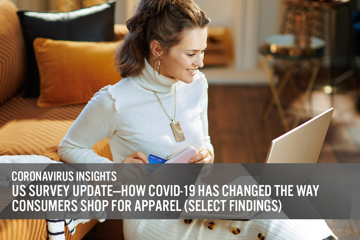 US Survey Update—US Survey Update— How Covid-19 Has Changed the Way Consumers Shop for Apparel (Select)